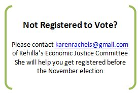 NOT REGISTERED TO VOTE
