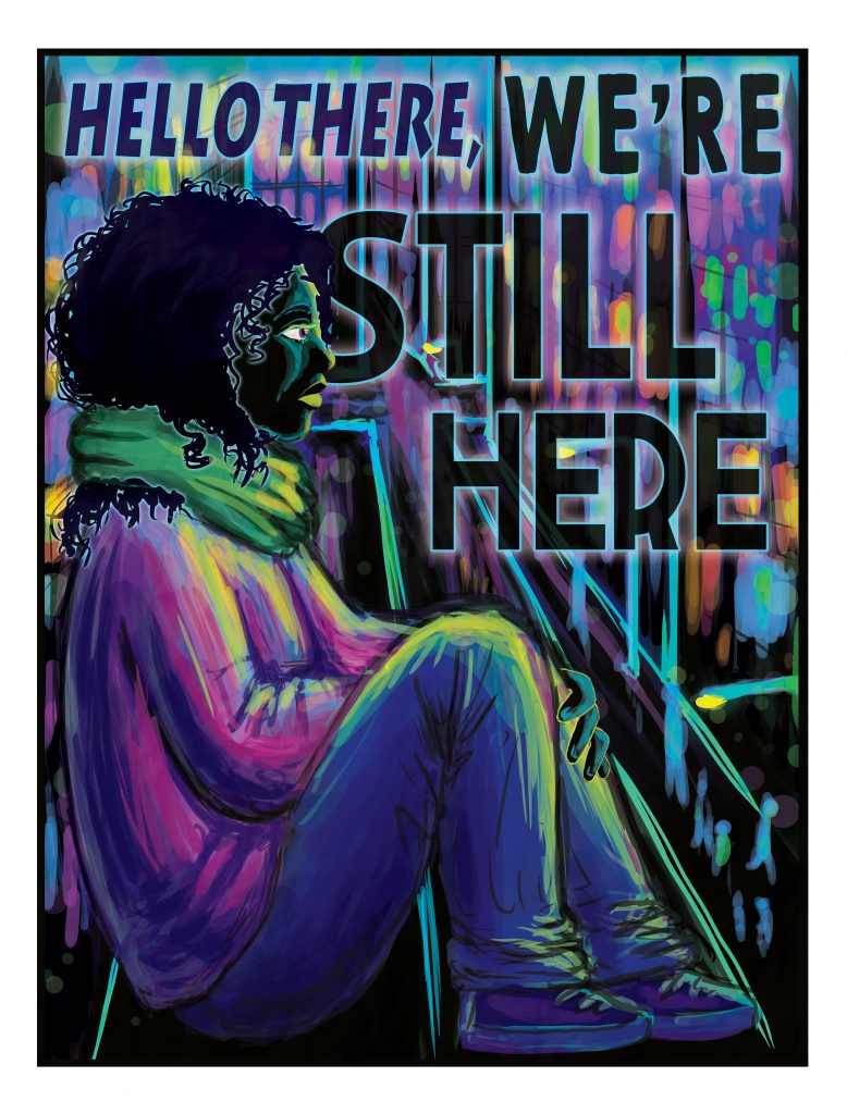 """We're Still Here"" by Inti Gonzalez"